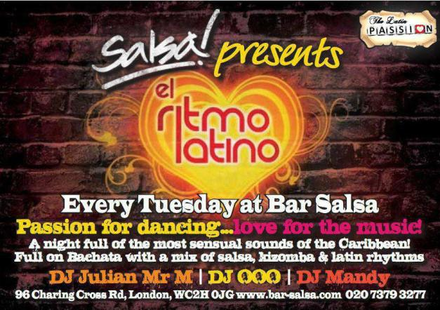 Ritmo Latino @ Bar Salsa
