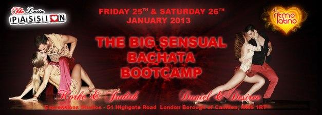 The Big Sensual Bachata Bootcamp