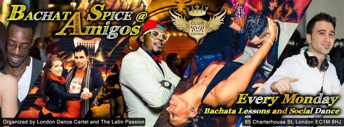 Bachata Spice @ Club Reina every Monday